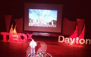 Villa Alum Mark Bailey presented at the TEDx Dayton Event